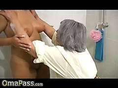 Lesbian, Ass, Mature and young lesbians seduction