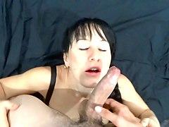 Facial, Milf, Shy, Woman seduces shy asian boy