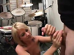 Blonde, Massage, Ass, Amateur wife massage