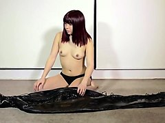 Bondage, Leather, Orgasm, Lesbian bdsm slaves