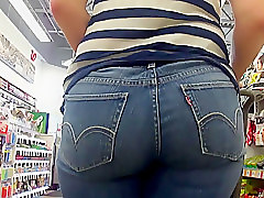 Jeans, Tight, Black dude humping white girls sexy tight jean ass