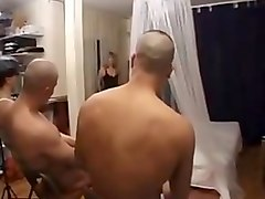 French, Too drunk fucked by young