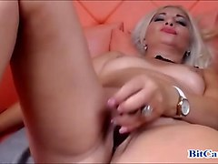 Blonde, Orgasm, Milf, Cam cum orgasm webcam
