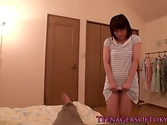 Teen, Japanese teen is a hardcore star uncensored