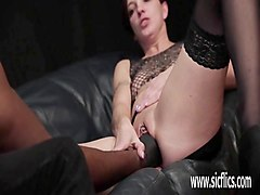 Ebony, Brutal, Fisting, Brutal rough mature deepthroat