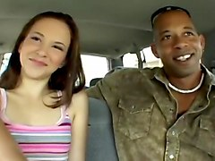 Interracial, Threesome, Anita s first time