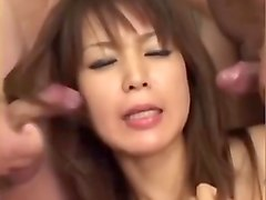 Bukkake, Japanese orgy uncensored part 1