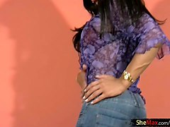 Black, Jeans, Latina, Humping her tight jean ass video