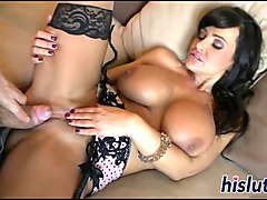 Bus, Hot boobs lisa ann