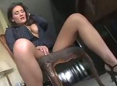 Mature and young lesbian
