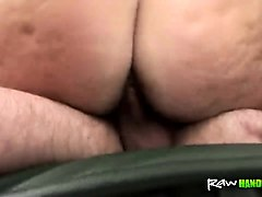 Hairy, Wife, Redhead, Solo hairy pale pussy and big tits
