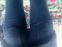 Jeans, Teen, Ass, Big booty compilation