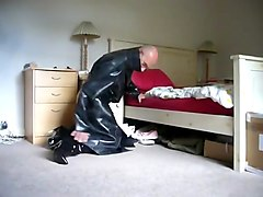 Boots, Rubber, Rubber latex sissy mistress