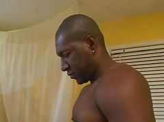 Ass, Tight, Big black cock trying tight ass
