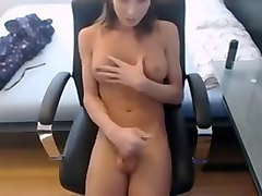 Amateur, Shemale, Cute shemale solo