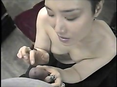 Korean, White wife ass worked over by bbc