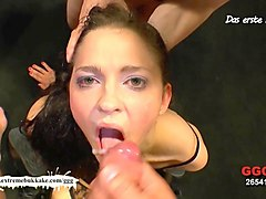 Amateur, Bukkake, German, Sleeping anal