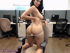 Amateur, Office, Public, Desi spy cam testing room