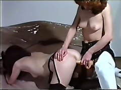 Girlfriend, Strapon, Redhead, White wife like black dick and hubby watches