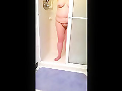 Hairy, Shower, Vintage hairy pussy big tits