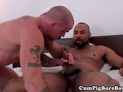 Black, Russian mature is gangbanged