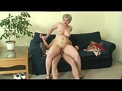 Swallow, Big Cock, 70years old granny