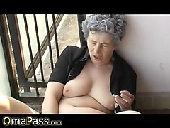 Hairy, Ass, Hairy granny assfucked
