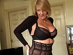 Ass, Lingerie, Real mature uk mom