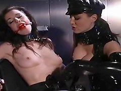 Latex, Latex rubber hood mask deep throut compilation