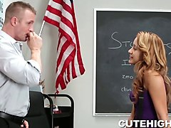 Student fucked by his privet teacher