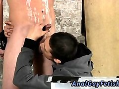 Slave, Gay hairy licking