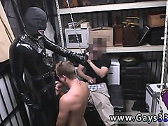 Gloryhole, Cum In Mouth, Heavy rubber latex gay