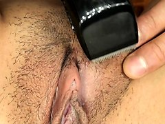 Amateur, Shaving, Japanese uncensored orgy