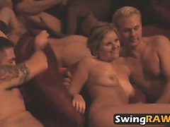 Amateur, Group, Babe, French swinger