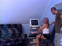Mature mom fuck young black