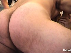 Anal, Blonde, Huge cock anal