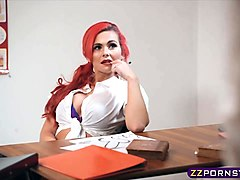 Teen, Katja gets fucked by her teacher