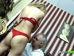 Blonde, Orgasm, Unexpected orgasm massage