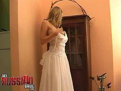 Bride, Russian, Wedding, Lisa ann wedding