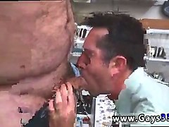 Public, Straight guy first time anal