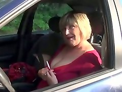 Blonde, Short Hair, Small tits mature blonde