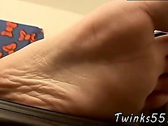 Gay male feet worship