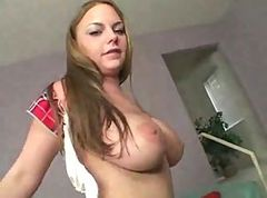 Blonde, Teen, Creampie, Monster cock creampie
