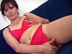 Hairy, Son lick hairy mom