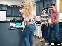 Gangbang, Hd, Party, Fat russian mature mother mom fucking with her