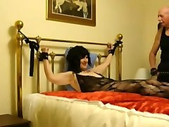 Hairy, Slave, Train, Solo bdsm granny slave
