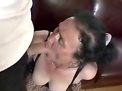 Hairy, Perfect hairy granny sucks and fuck young dude