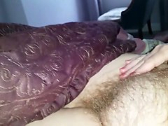 Amateur, Hairy, Hairy granny gets ass fucked