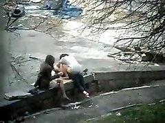 Public, Spy, Young girl satte lose the virginity