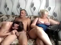 Group, Russian, Mature russian maid fuck